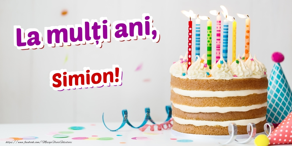 Felicitari de zi de nastere | La mulți ani, Simion