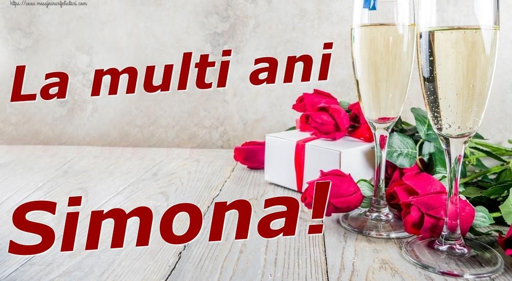 Felicitari de zi de nastere | La multi ani Simona!
