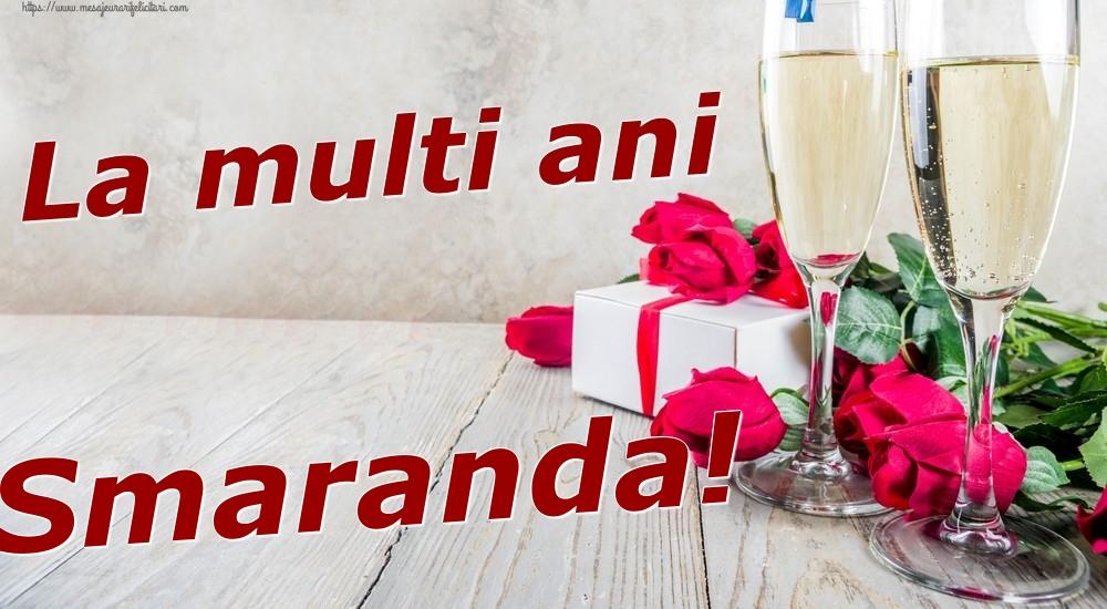 Felicitari de zi de nastere | La multi ani Smaranda!