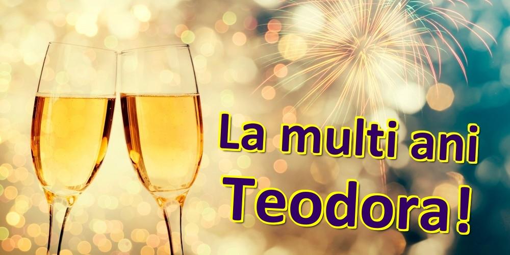 Felicitari de zi de nastere | La multi ani Teodora!