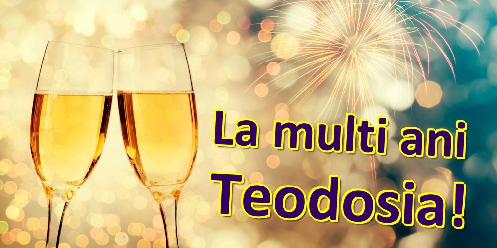 Felicitari de zi de nastere | La multi ani Teodosia!