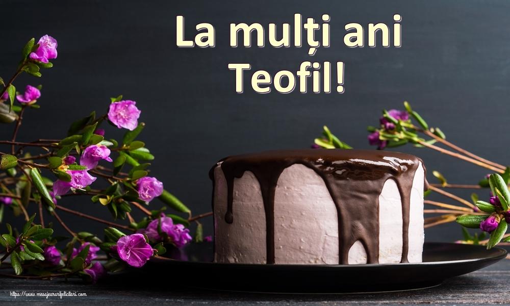 Felicitari de zi de nastere | La mulți ani Teofil!