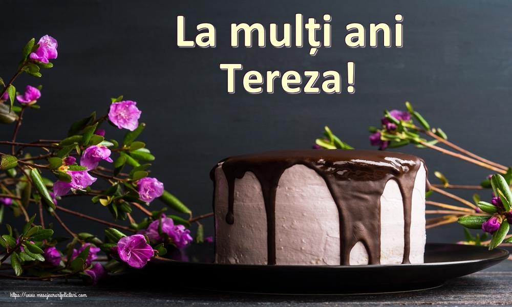 Felicitari de zi de nastere | La mulți ani Tereza!