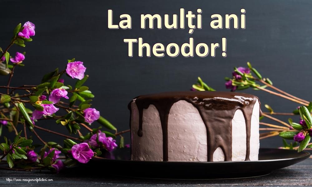 Felicitari de zi de nastere | La mulți ani Theodor!