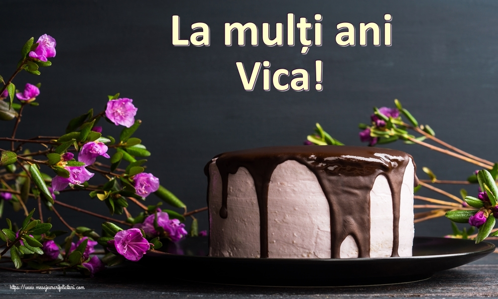 Felicitari de zi de nastere | La mulți ani Vica!