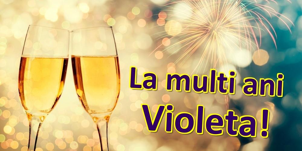 Felicitari de zi de nastere | La multi ani Violeta!
