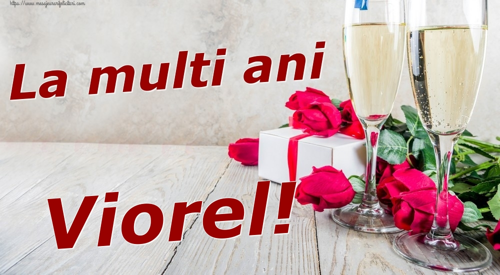 Felicitari de zi de nastere   La multi ani Viorel!