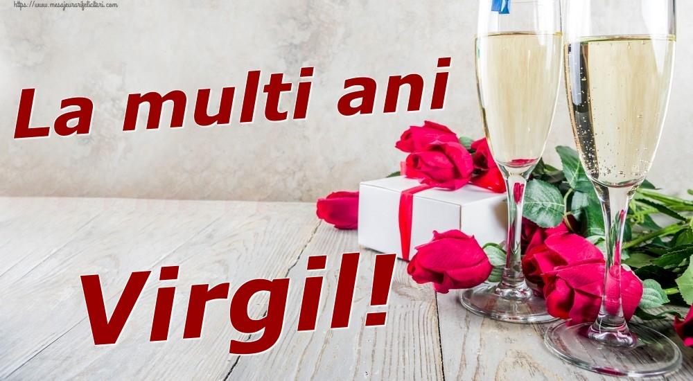 Felicitari de zi de nastere | La multi ani Virgil!