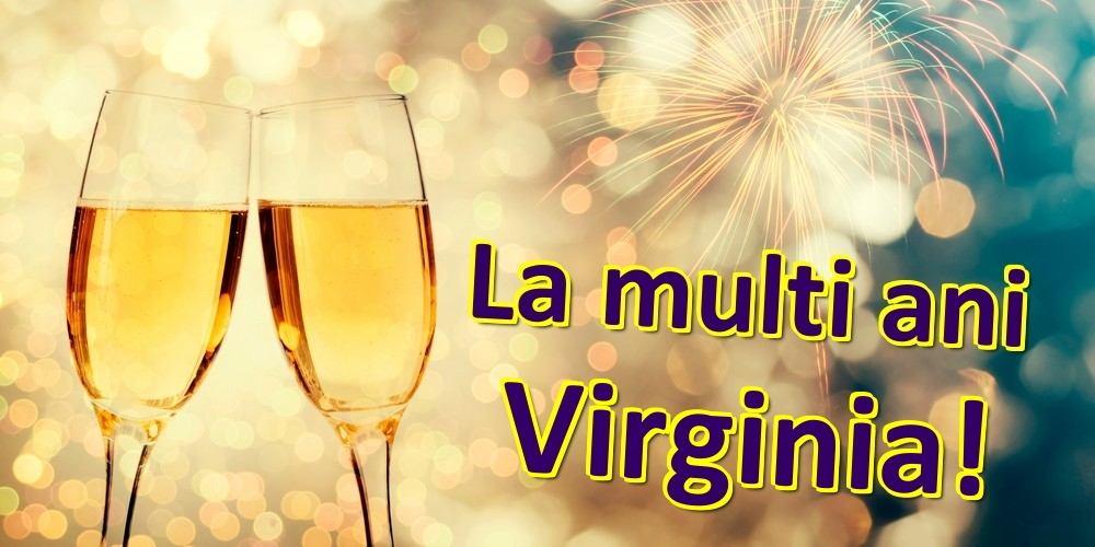 Felicitari de zi de nastere | La multi ani Virginia!