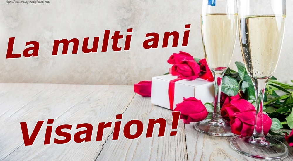 Felicitari de zi de nastere | La multi ani Visarion!