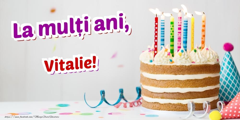 Felicitari de zi de nastere | La mulți ani, Vitalie
