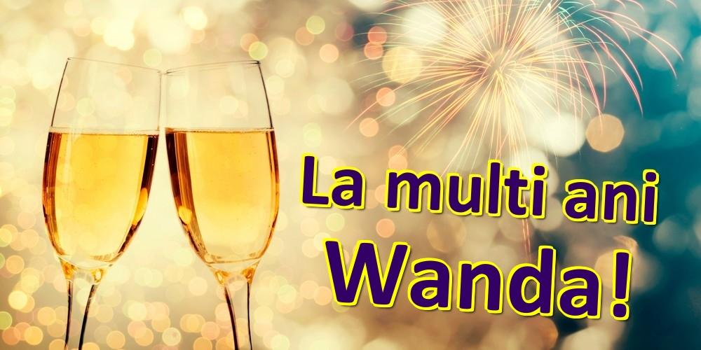 Felicitari de zi de nastere | La multi ani Wanda!