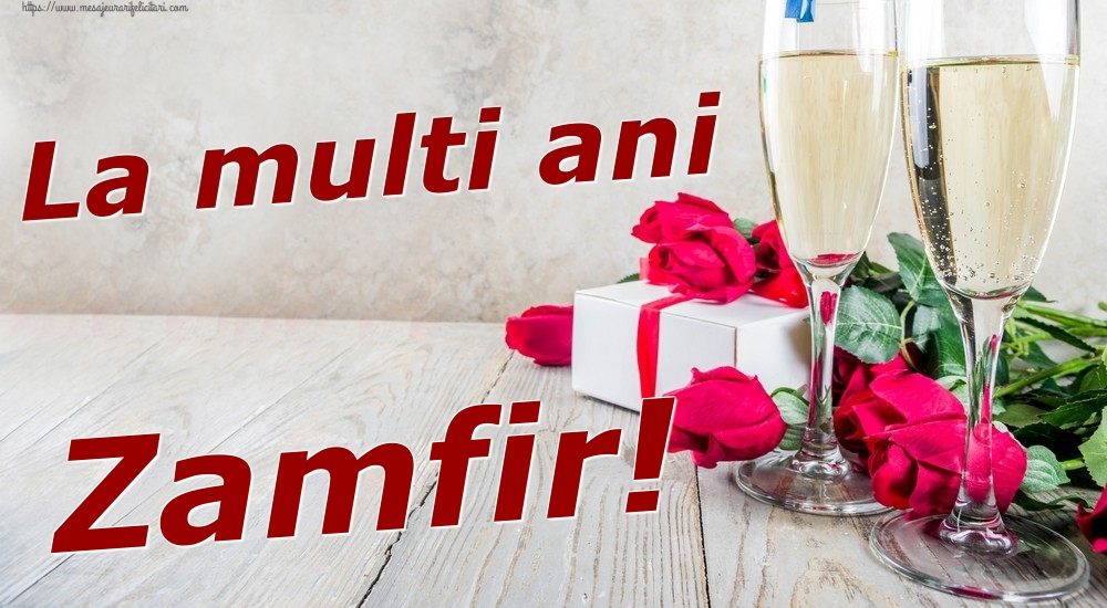 Felicitari de zi de nastere | La multi ani Zamfir!